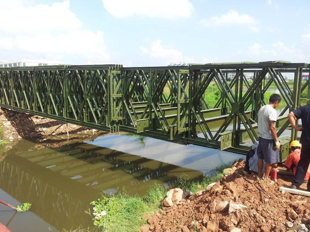 贝雷架为什么能在钢便桥中使用如何广泛?