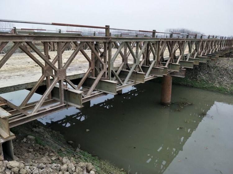 四川钢便桥安拆