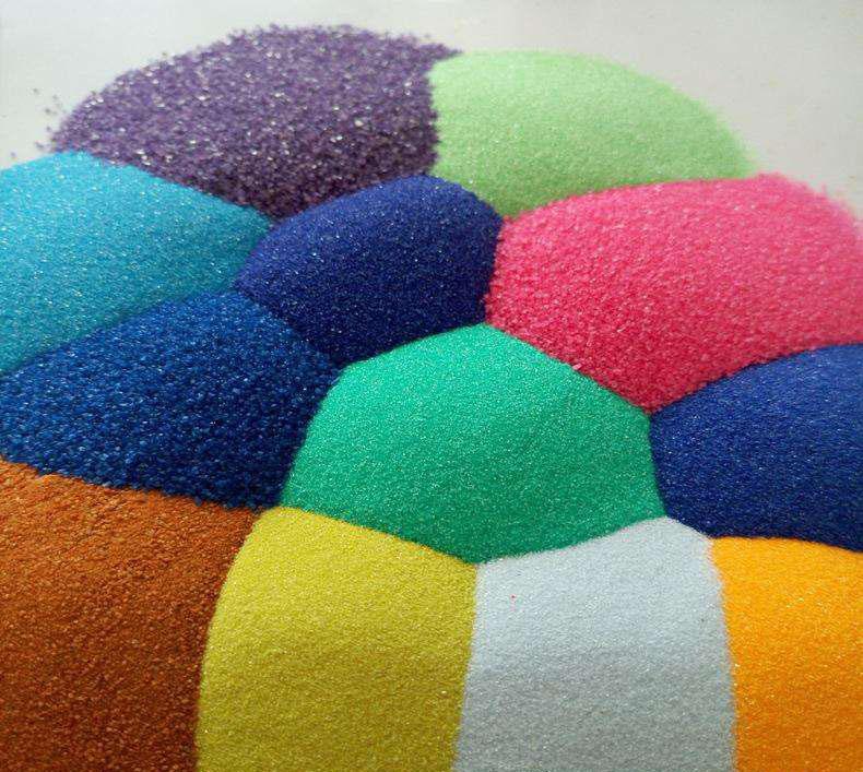 彩砂生产加工厂家  有效节约能源