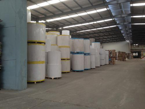 河北某造纸行业使用我司重钙粉工程案例