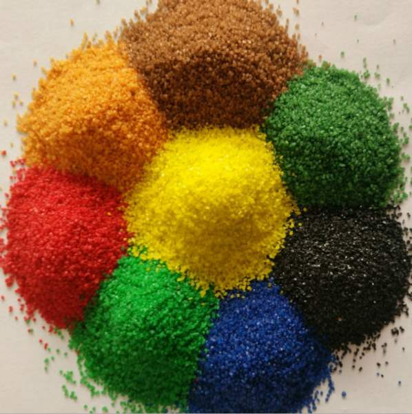 真石漆使用的彩砂可以选用哪种的?快来看看吧!