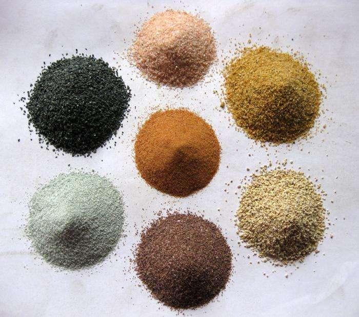 采砂有什么特点下面南阳宛龙新材料为你讲解