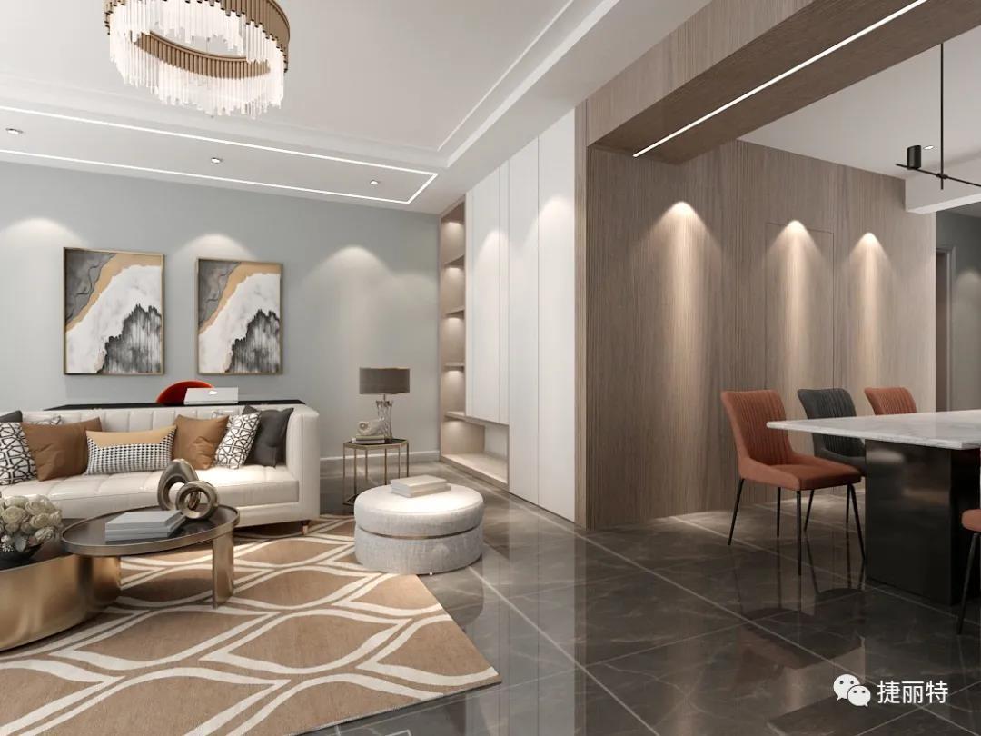 現代輕奢家居設計,給您恰到好處的精致生活