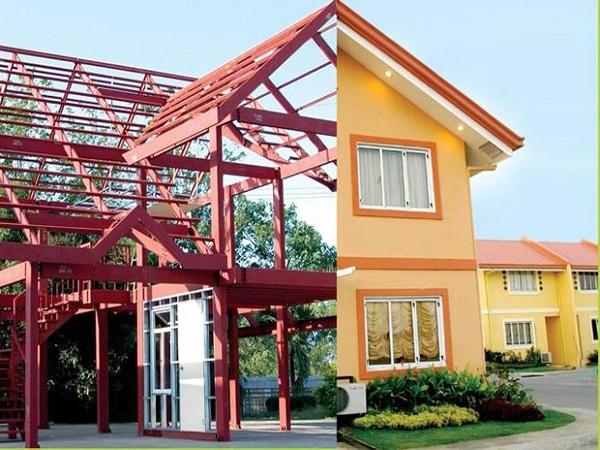 轻型钢结构别墅