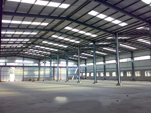 钢结构厂房安装