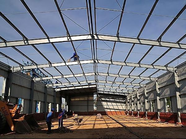 静宁钢结构厂房设计