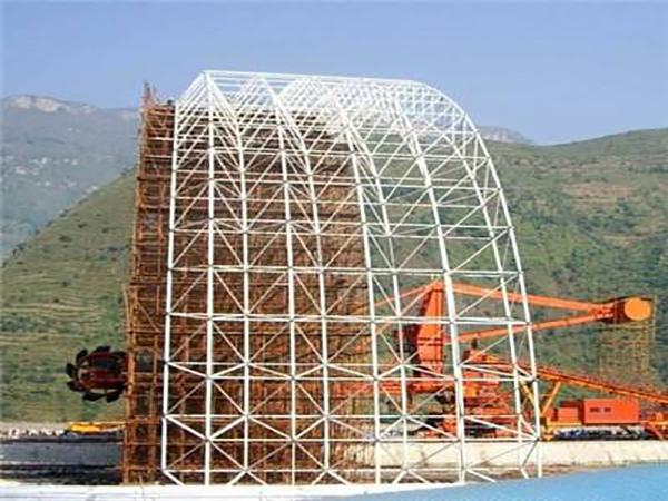 静宁钢结构厂家分享钢结构的塑性形变和耐心增进