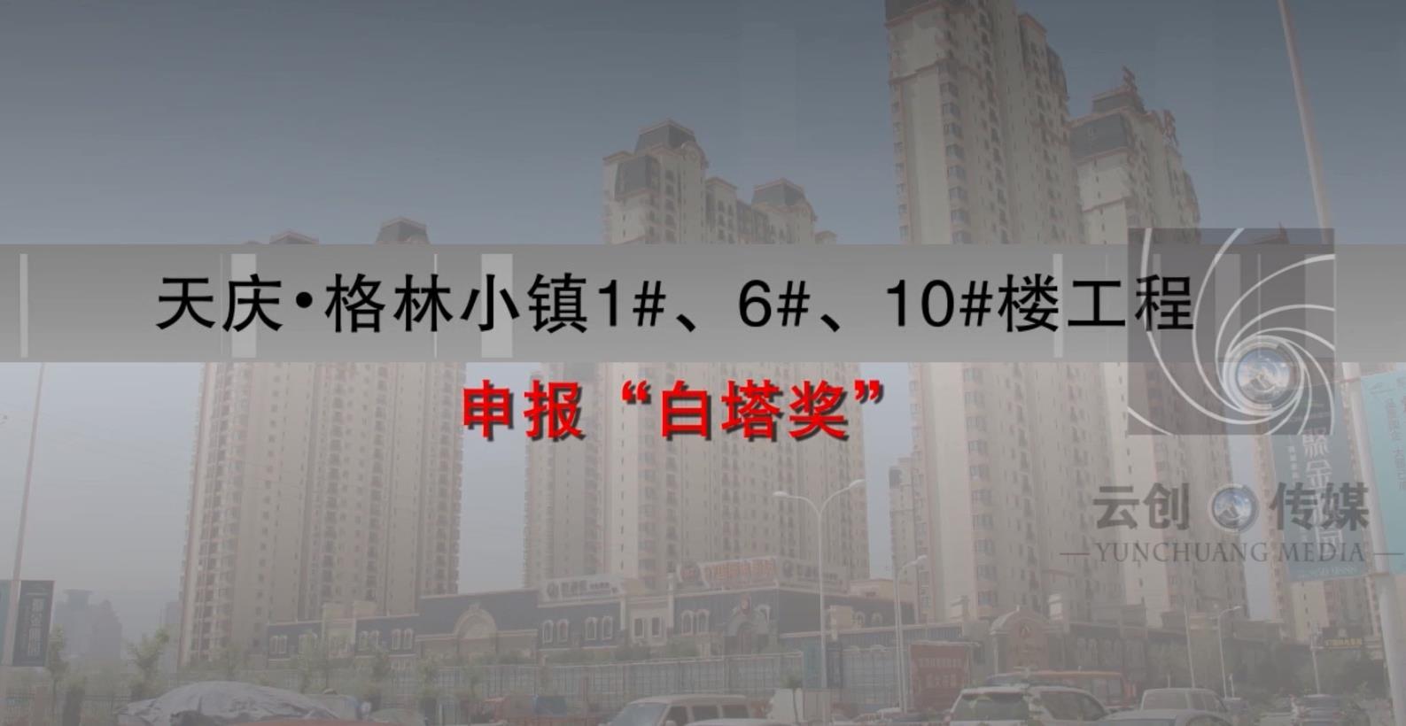 伊真集团-天庆格林小镇1#6#10#楼工程-白塔奖