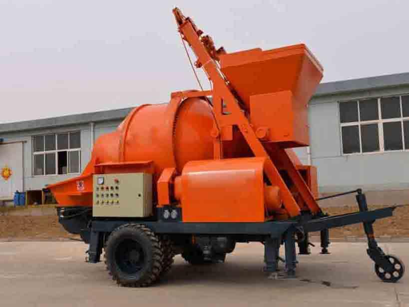 混凝土输送拖泵