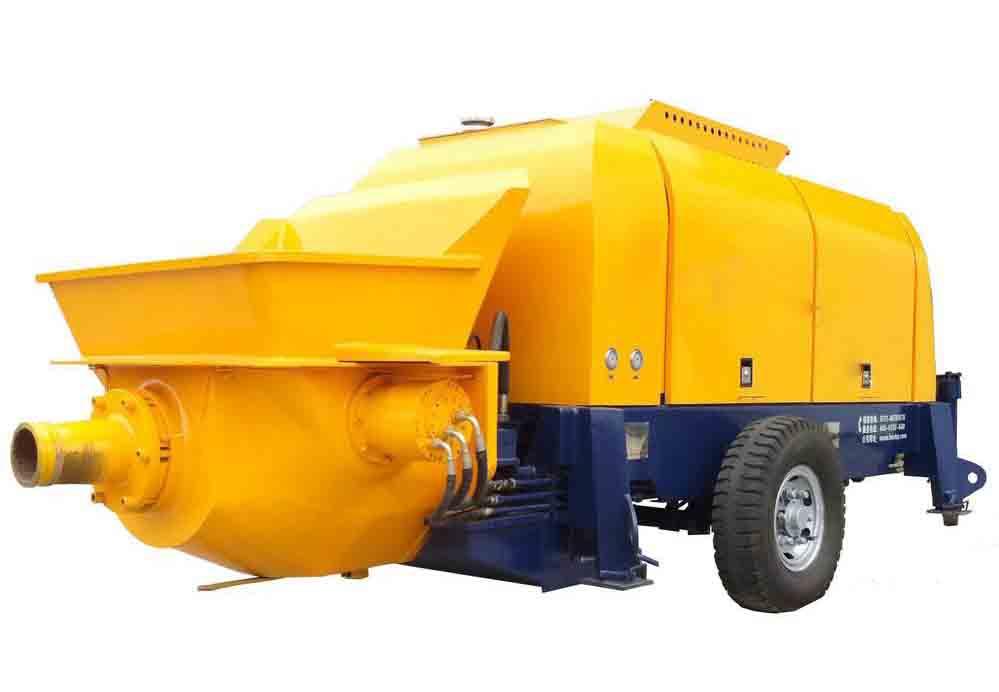 在工作中的成都混凝土输送拖泵一定要注意以下事项