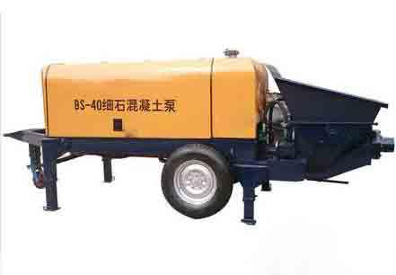成都细石混凝土输送泵