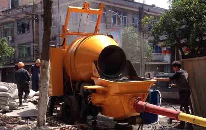 搅拌拖泵案例