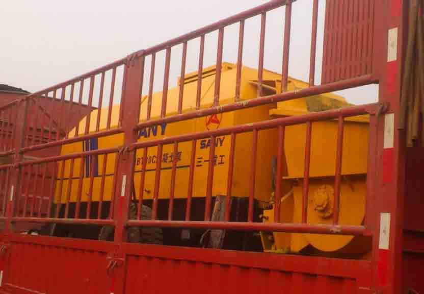 四川混凝土输送泵