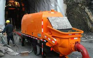 成都混凝土输送泵案例