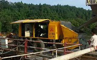 混凝土输送泵案例