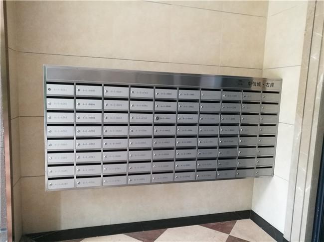 不同形式不锈钢信报箱的安装方式