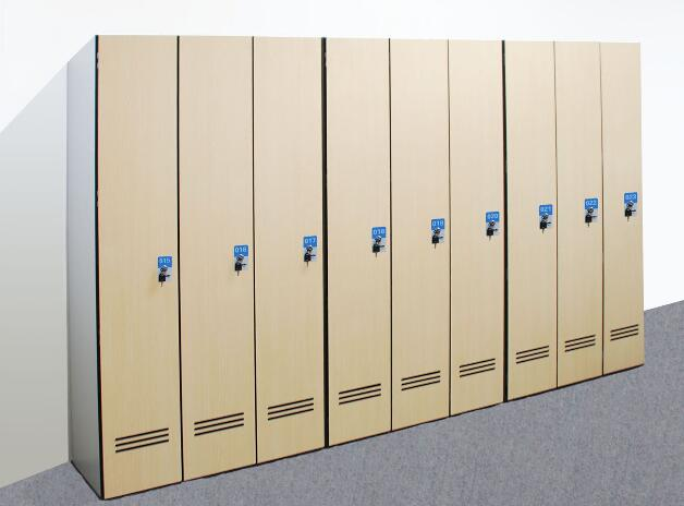 仿木纹铁皮储物柜