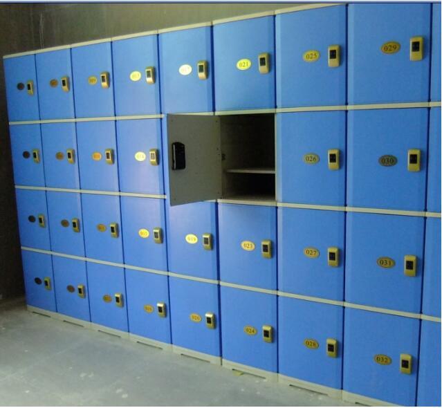 感应储物柜