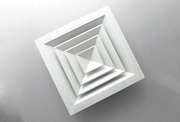 正方形散流器