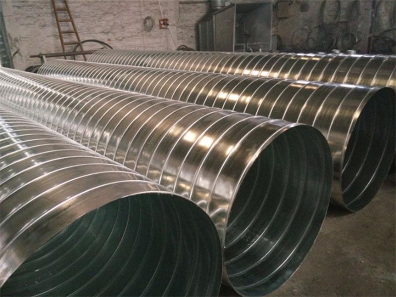 四川铁皮风管与纤维布风管之间的对比
