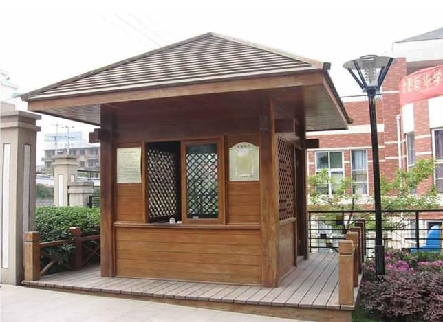 陕西防腐木屋