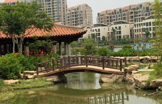 西安防腐木桥