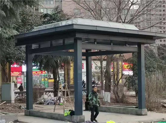 郭杜腾飞广场 绿化项目