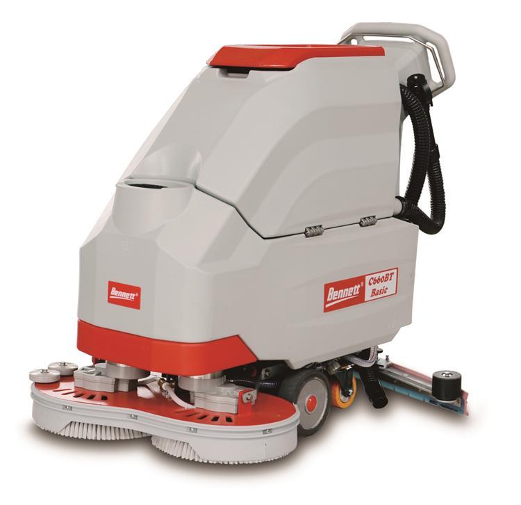 贝纳特手推双刷洗地机C660BT