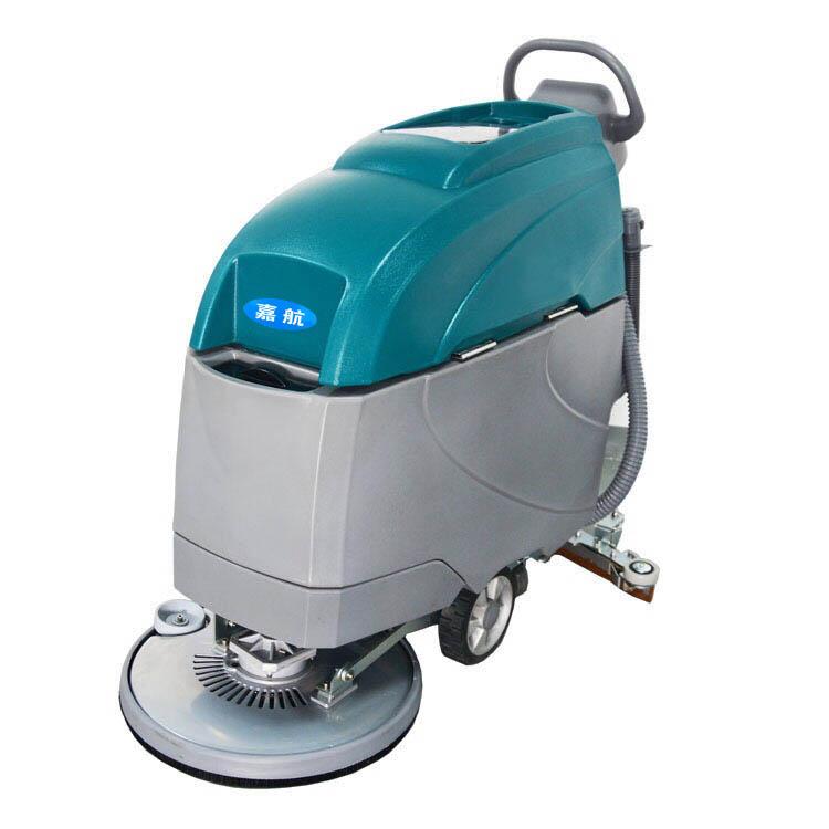 保洁公司选择陕西手推式洗地机清洁有哪些优势?