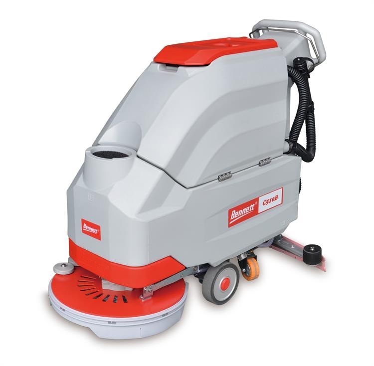 手推式洗地機結構和工作原理
