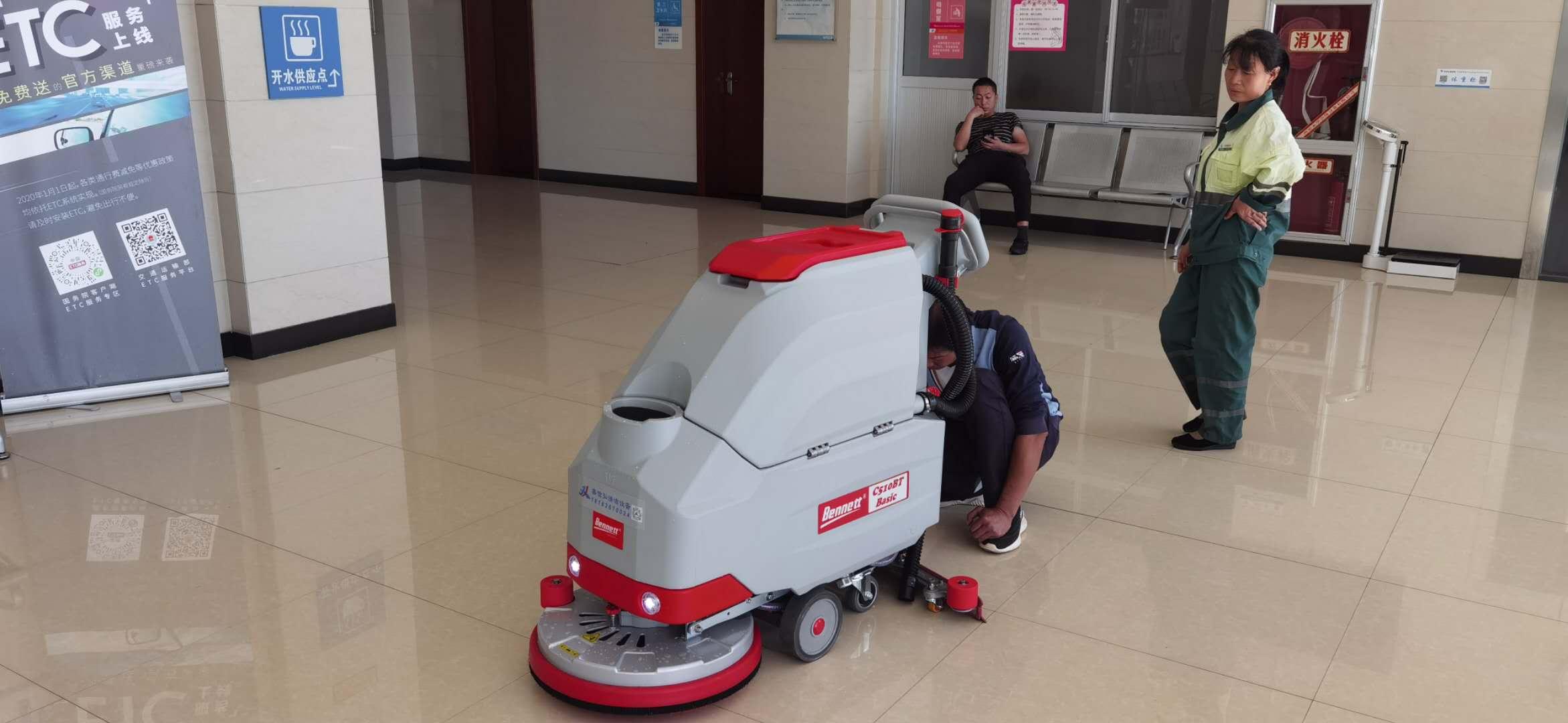 速来围观新晋清洁行业的宠儿—洗地机