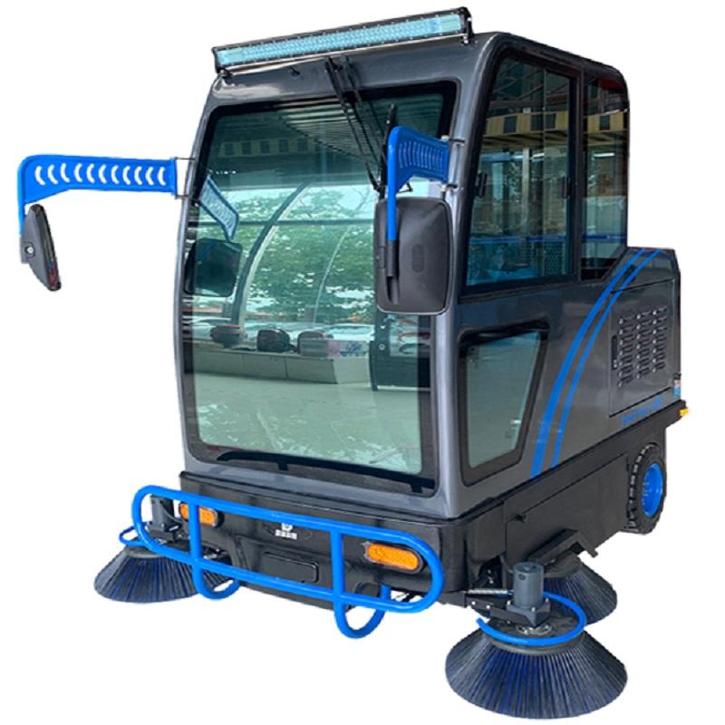 嘉航驾驶式扫地车为物流园解决难题