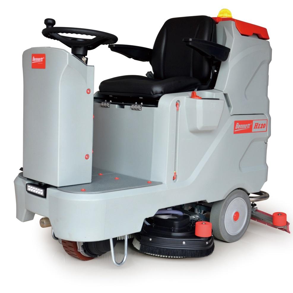 洗地机对于工厂清洁的重要性