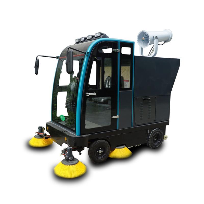 驾驶式扫地车已成为地面保洁的趋势