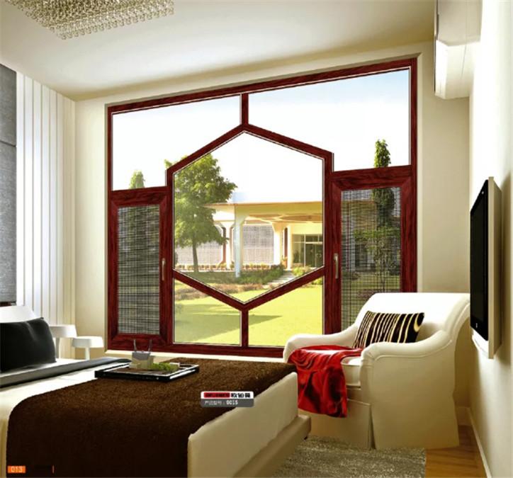 惠州定制断桥铝门窗_金刚网窗纱一体窗隔音隔热窗