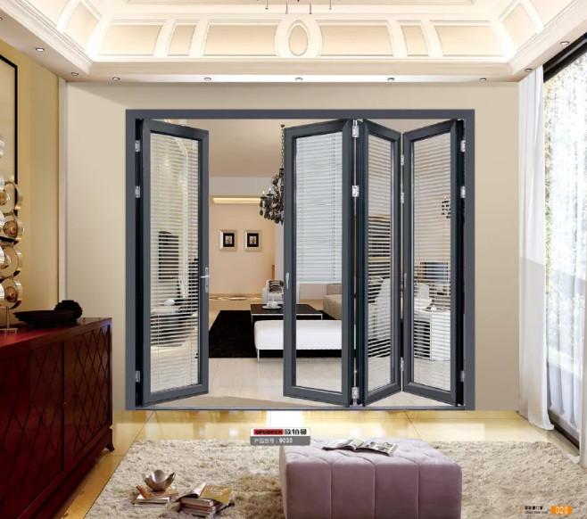 重型客厅铝合金折叠门定制厂家