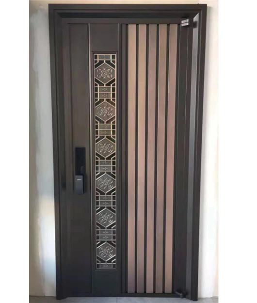 防盗门被弄好多划痕,怎么方法?