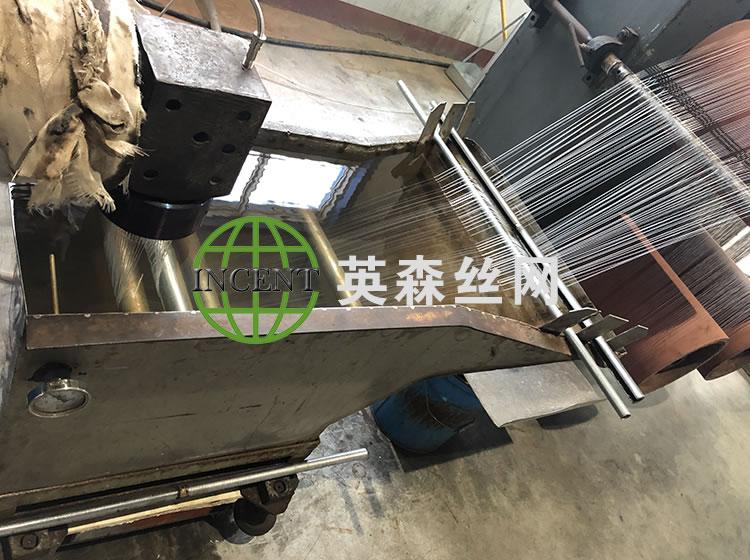 生產中的防蟲網設備