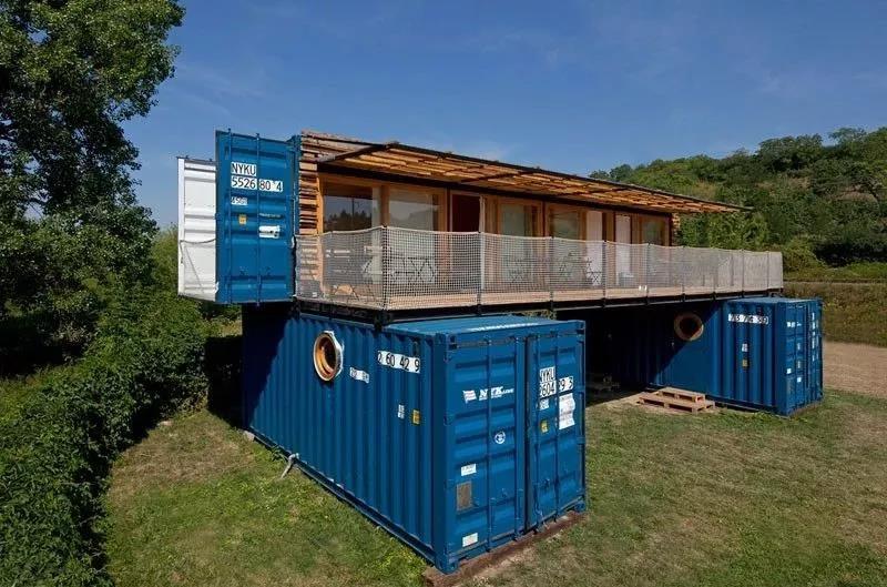 买不起房没关系,你可以拥有高大上的集装箱房屋!