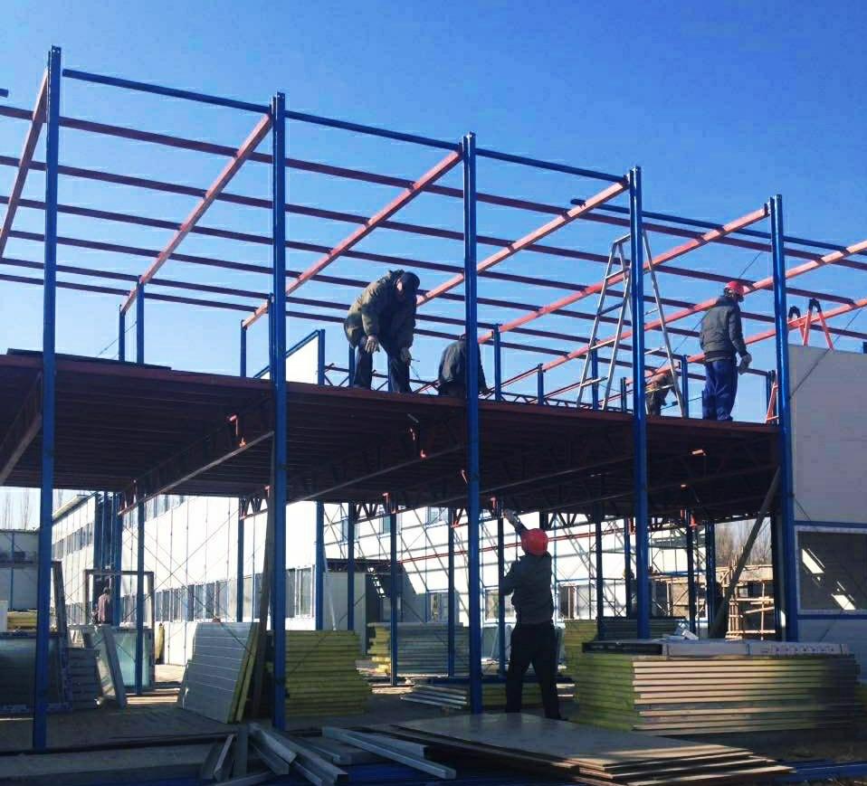 箱式房屋安装工程