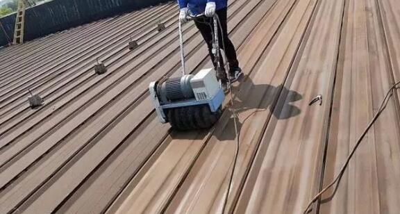 旧彩钢瓦翻新