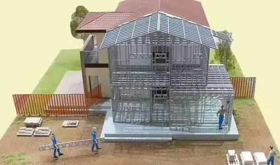 轻钢别墅是如何做到快速完工还能**质量达到拎包入住的?