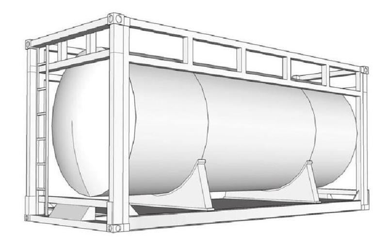 图4罐式集装箱