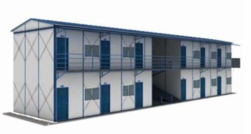 建筑工地的临时住房