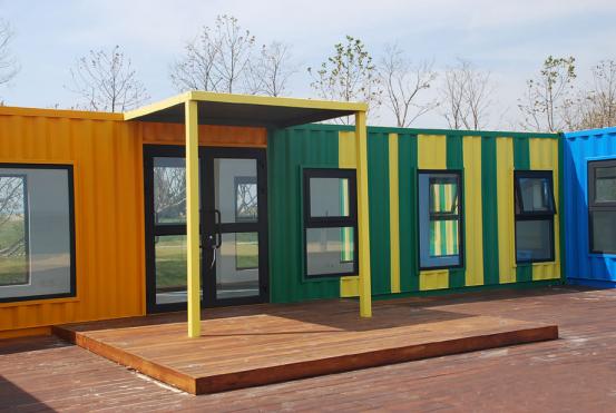 这样的箱式房屋你见过吗?