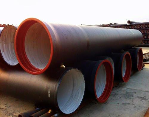 球墨鑄鐵管具有優異的機械功用和外觀質量