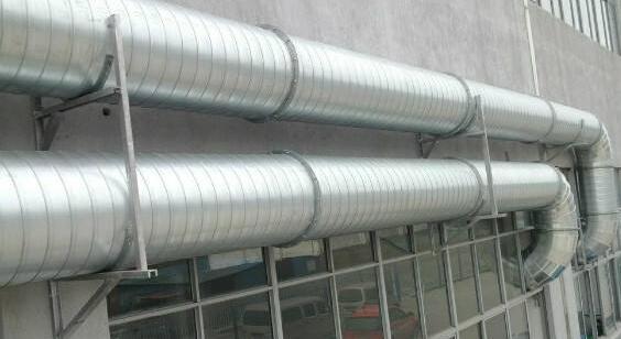 鸿畅通风螺旋管道安装yabo88vip1com登录合作案例