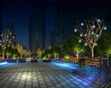 城市果真越亮越美丽吗