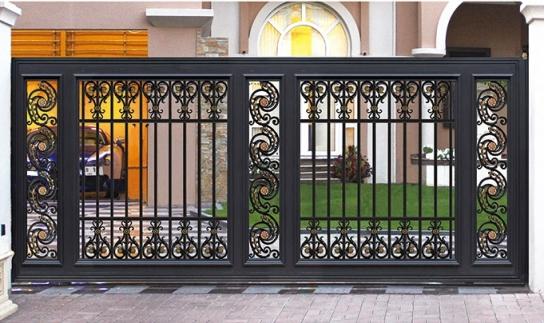 成都铝艺庭院门