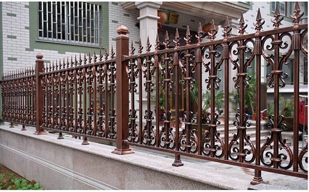 成都铝艺庭院围栏定制